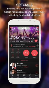 Klik | Nightlife apk screenshot