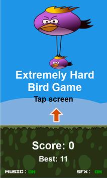 Extremely Hard Bird Game poster