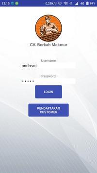 CV. Berkah Makmur poster