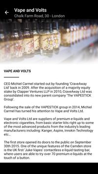 Vape and Volts apk screenshot