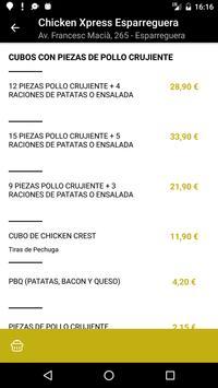 Chicken Xpress Esparreguera apk screenshot