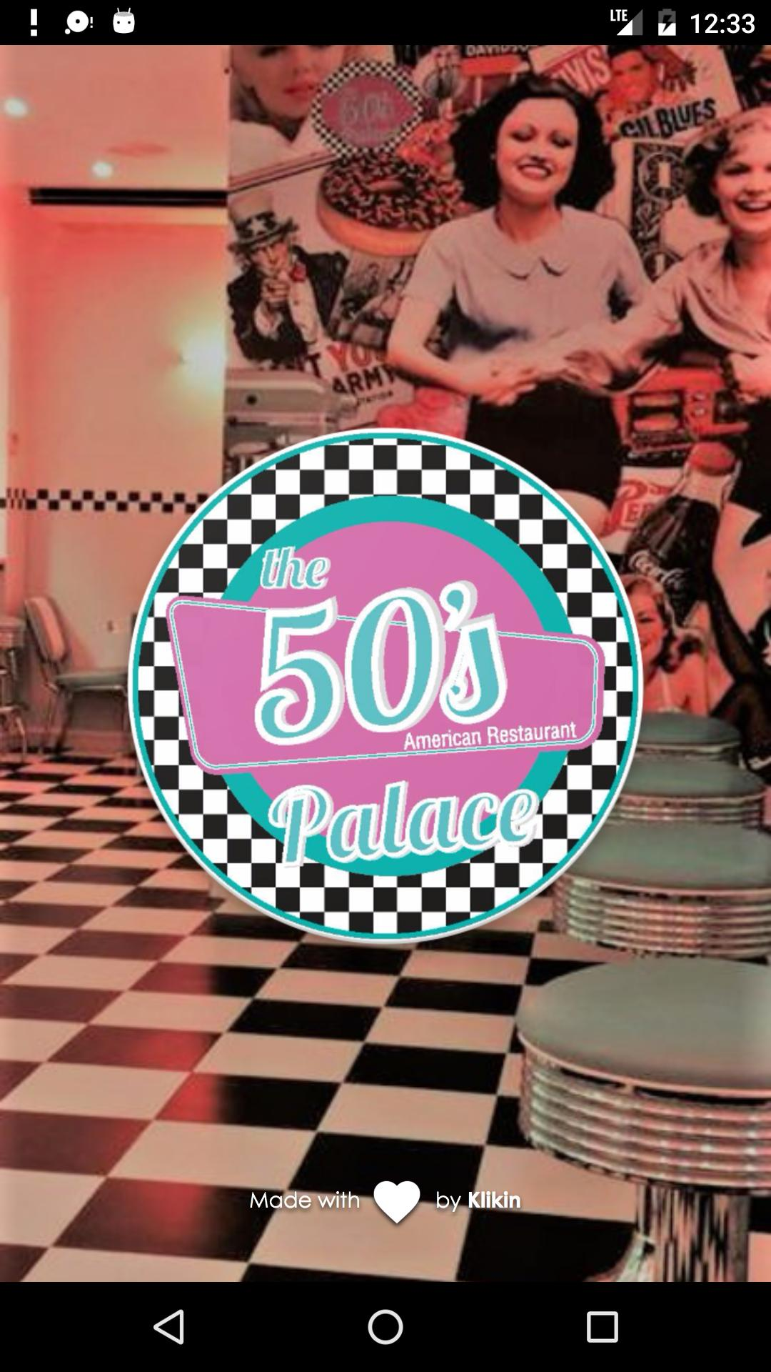 The 50's Palace poster