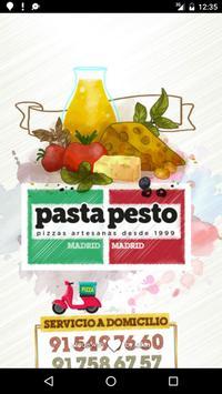 Pasta Pesto Madrid poster