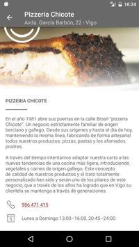 Pizzeria Chicote poster