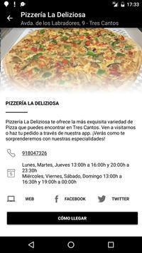 Pizzería La Deliziosa screenshot 2
