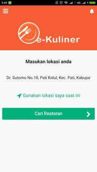 e-Kuliner screenshot 1