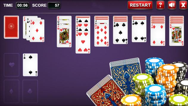 Solitaire Classic - Spider Cards Game screenshot 2