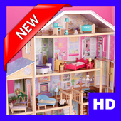 Beautiful Doll House Design For Kids icon