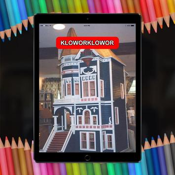 Beautiful Doll House Design For Kids poster