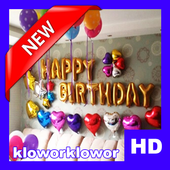Birthday Ballon Decoration HD icon