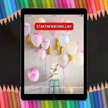 Birthday Ballon Decoration HD poster