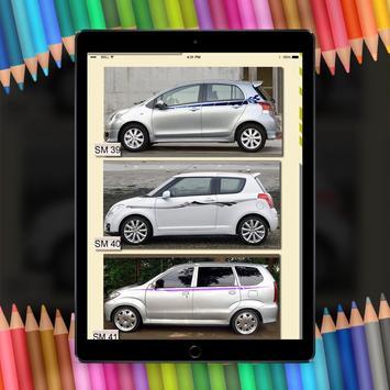 Car stickers design ideas hd poster car stickers design ideas hd apk screenshot