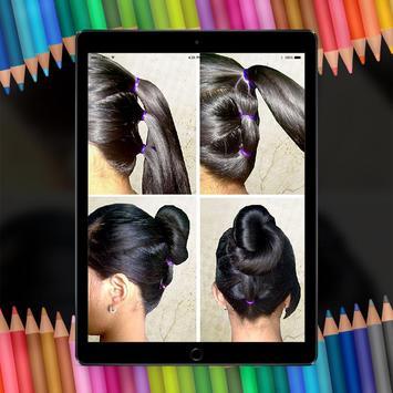 Easy Hair Stylish Step By Step HD screenshot 4