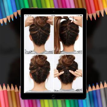 Easy Hair Stylish Step By Step HD screenshot 5