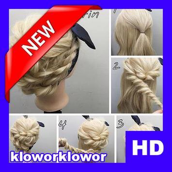Easy Hair Stylish Step By Step HD screenshot 6