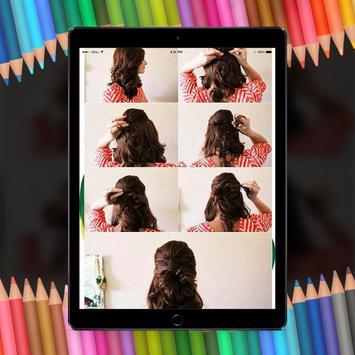 Easy Hair Stylish Step By Step HD screenshot 1
