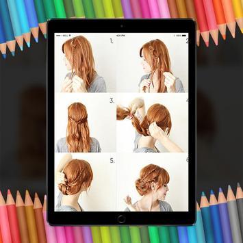 Easy Hair Stylish Step By Step HD screenshot 2