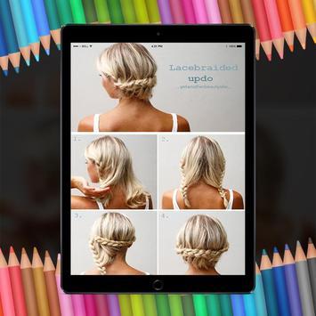 Easy Hair Stylish Step By Step HD screenshot 3