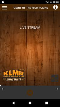 KLMR AM 920 poster