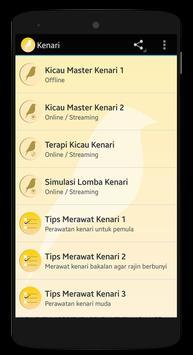 Tips & Kicau Kenari poster