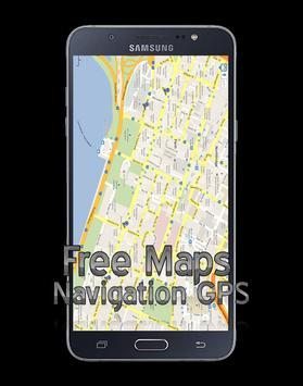 free maps navigation gps screenshot 2