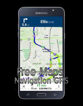 free maps navigation gps screenshot 4