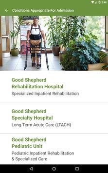 Good Shepherd Rehab: Clinical apk screenshot