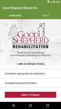 Good Shepherd Rehab: Clinical poster