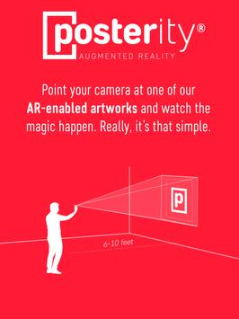 Posterity AR apk screenshot