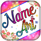 Name Art & Name Live Wallpaper icon