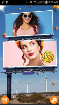 Double Photo Hoardings poster