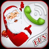 Santa Talking Phone Call icon