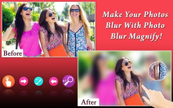 Photo Blur Magnify apk screenshot