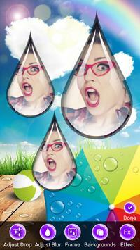 Photo Rain Drops poster