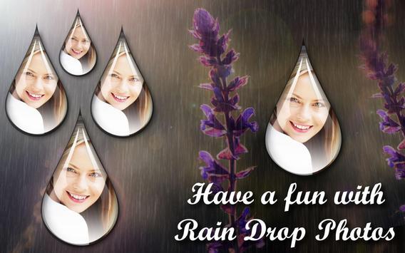 Photo Rain Drops apk screenshot