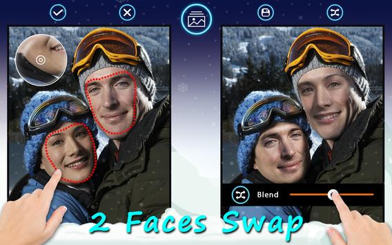 2 Faces Swap apk screenshot