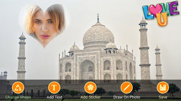 Taj Mahal Frames Collages poster