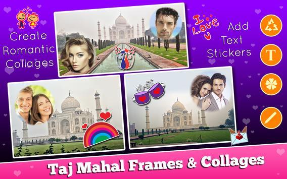 Taj Mahal Frames Collages apk screenshot