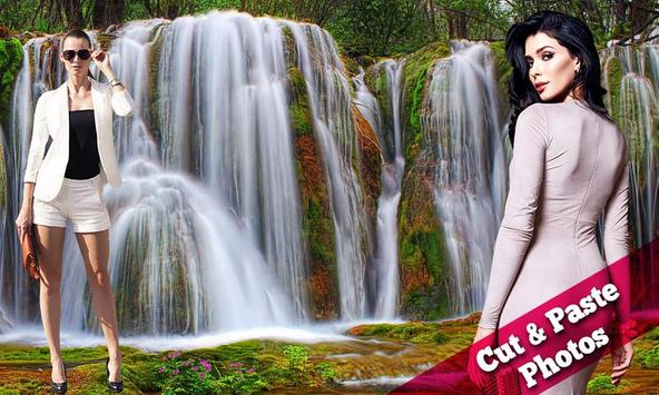Waterfall Collages poster