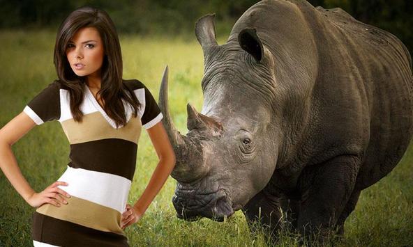 Wild Animal Photo Frames poster