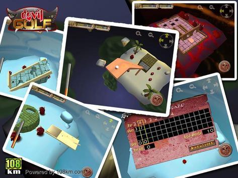 Devil Golf HD Free apk screenshot