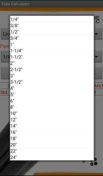 Metal Tube Calculators screenshot 6