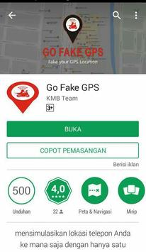 Go Fake GPS poster