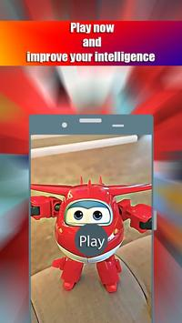 Super Wings Tile Puzzle poster