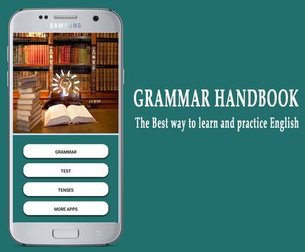Easy English Grammar poster