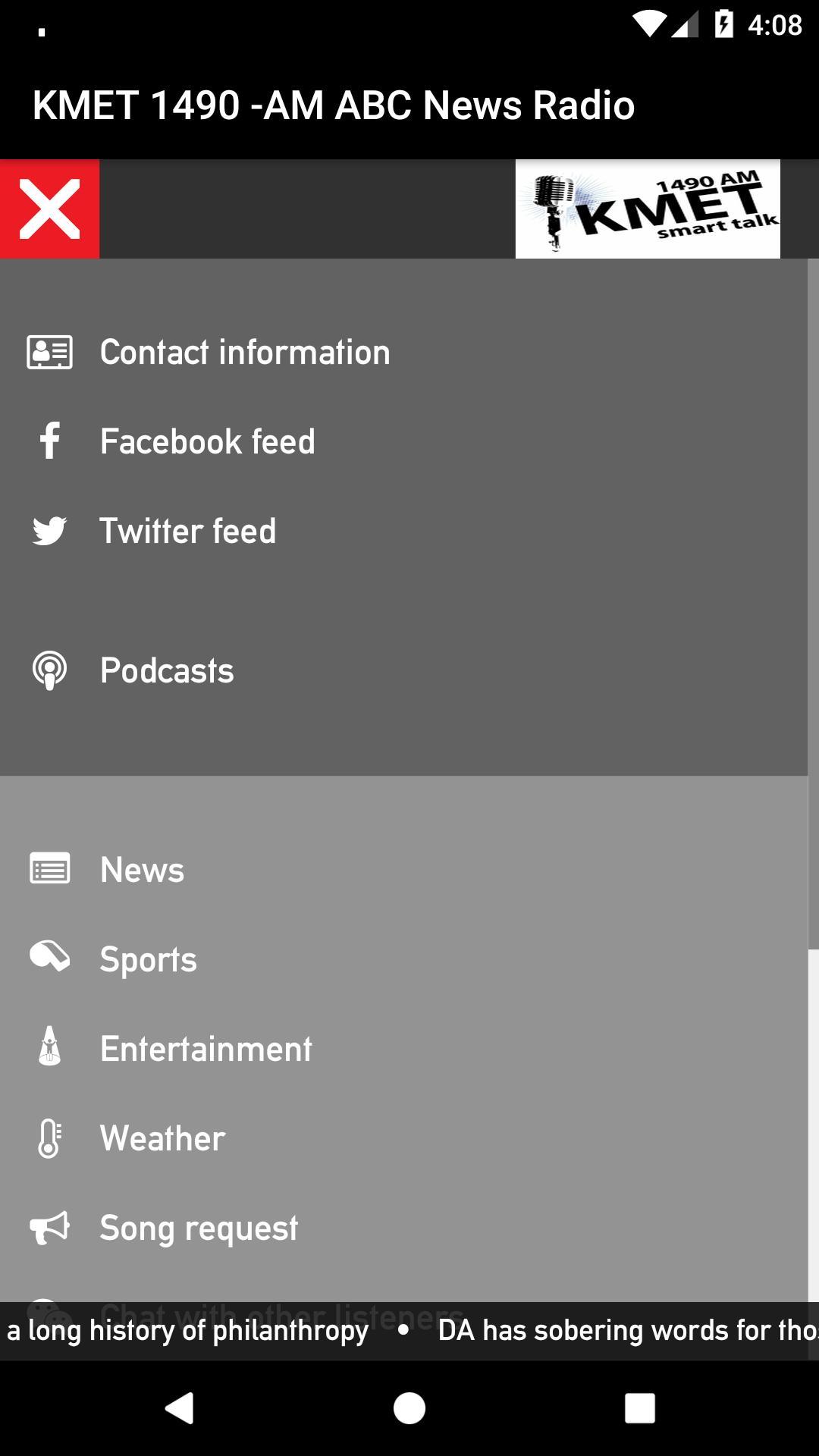 KMET 1490 -AM ABC News Radio cho Android - Tải về APK