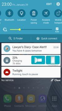 Lawyer's Diary screenshot 1