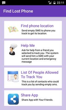 Find My Phone App SMS/GPS Free for Android - APK Download