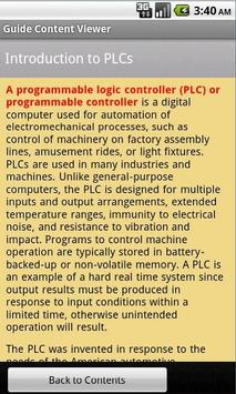 PLC Guide apk screenshot