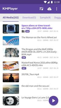 Video player KM - HD UHD 4K Video & Music Player poster